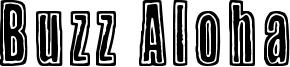 Buzz Aloha Font