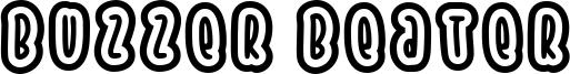 Buzzer Beater Font
