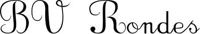 BV Rondes Font