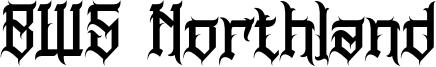 BWS Northland Font