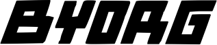 Byorg Font