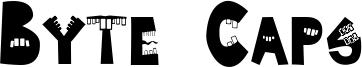Byte Caps Font