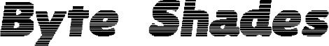 Byte Shades Font