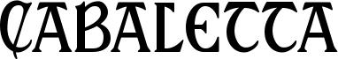 Cabaletta Font