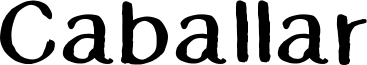 Caballar Font