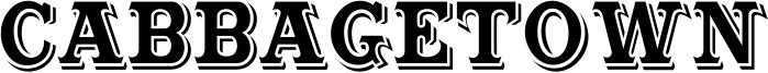 Cabbagetown Font