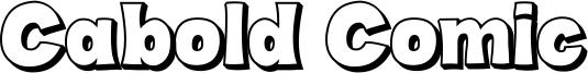 Cabold Comic Outline demo.otf