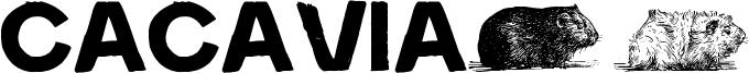 Cacavia01 Font