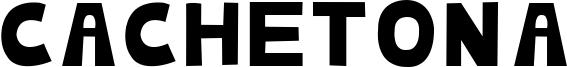 Cachetona Font
