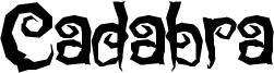Cadabra Font