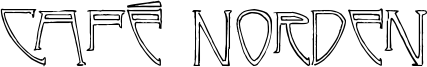 Café Norden Font