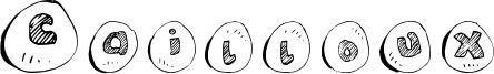 Cailloux Font