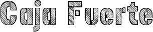 Caja Fuerte Font