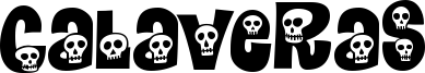 Calaveras Font