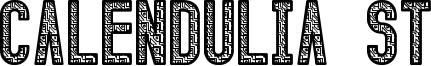 Calendulia St Font