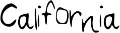 California Font