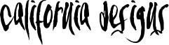California Designs Font