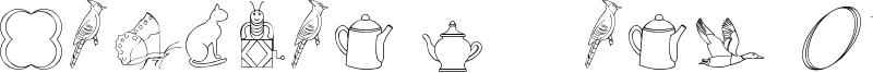 CaliKat's Path Draws LT Font