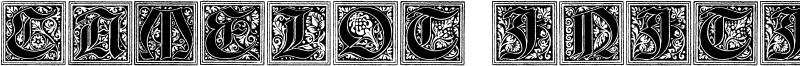 Camelot Initials Font