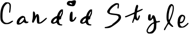 Candid Style Font