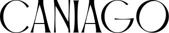 Caniago Font