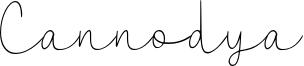 Cannodya Font