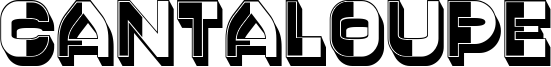 Cantaloupe Font
