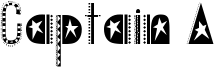 Captain A Font