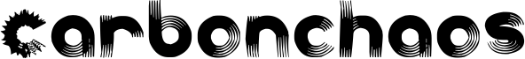 Carbonchaos Font