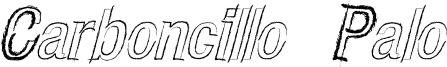 CARBONCILLO PALO Italic.ttf