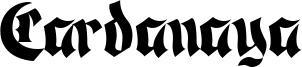 Cardanaya Font