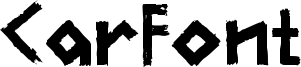 CarFont Font