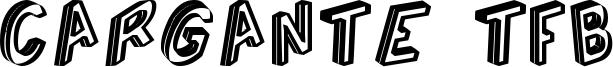 Cargante TFB Font