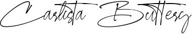 Carlista Buttery Font