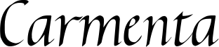 Carmenta Italic 2.00.ttf
