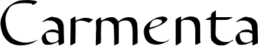 Carmenta Font