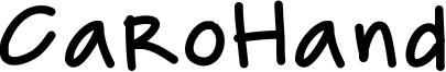 CaroHand Font