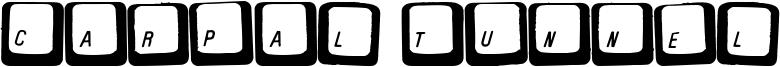 Carpal Tunnel Font