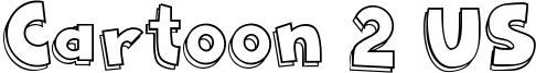 Cartoon 2 US Font