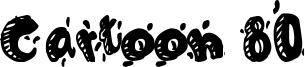 Cartoon 80 Font
