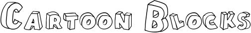 Cartoon Blocks Font