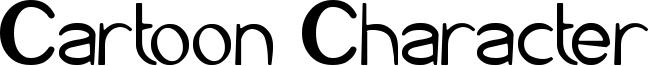 Cartoon Character Font