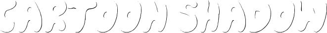 Cartoon Shadow Font