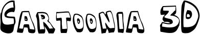 Cartoonia 3D Font
