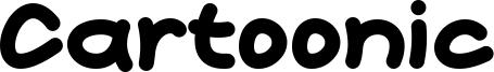 Cartoonic Font