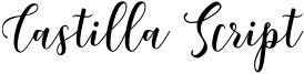 Castilla Script Font