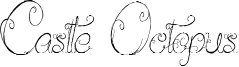 Castle Octopus Font