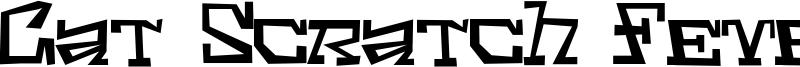 Cat Scratch Fever Font