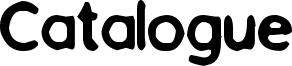 Catalogue Font