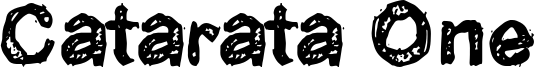 Catarata One Font